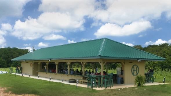 pavilion at White Oak Pastures